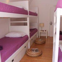 Lost Inn Lisbon Hostel Кровать в общем номере фото 6