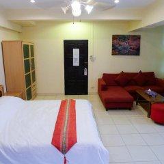 Апартаменты Metro Apartments Номер Делюкс с различными типами кроватей фото 5