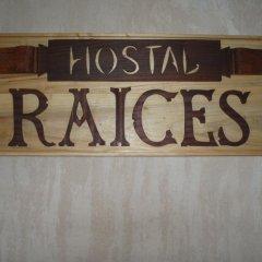 Отель Hostal Raices Стандартный номер с различными типами кроватей
