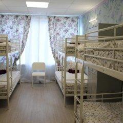 Хостел Ника-Сити Кровать в женском общем номере с двухъярусными кроватями фото 2