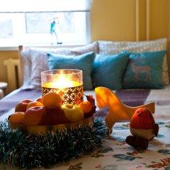 Хостел Квартира 55 Кровать в общем номере с двухъярусной кроватью фото 9