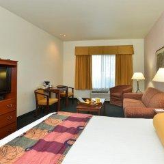 Отель Best Western PLUS Villa del Lago Inn 2* Стандартный номер с различными типами кроватей фото 7