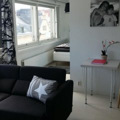 Апартаменты Rooftop Apartment With Sauna комната для гостей фото 4