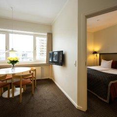Апартаменты Ascot Apartments Копенгаген комната для гостей фото 4