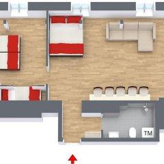 Отель Avenue A1 Улучшенные апартаменты с различными типами кроватей фото 2