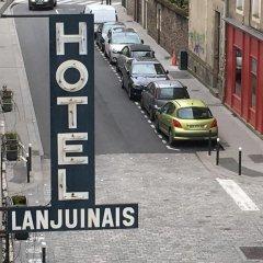 Отель Hôtel Lanjuinais парковка