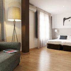 Апартаменты Aspasios Plaza Real Apartments Студия Эконом с различными типами кроватей фото 7