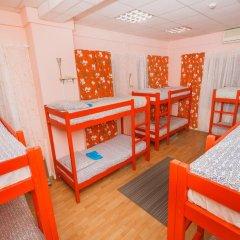 Хостел Кенгуру Кровать в общем номере с двухъярусными кроватями фото 2