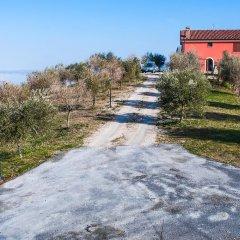 Отель Agriturismo San Michele Солофра приотельная территория