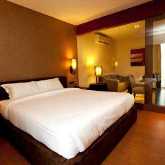 Отель Pietra Ratchadapisek Bangkok Таиланд, Бангкок - отзывы, цены и фото номеров - забронировать отель Pietra Ratchadapisek Bangkok онлайн комната для гостей фото 3