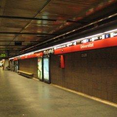 Отель Hostal Plaza Goya Bcn Барселона парковка