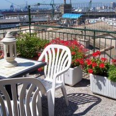 Отель Agnello dOro Genova Италия, Генуя - 6 отзывов об отеле, цены и фото номеров - забронировать отель Agnello dOro Genova онлайн балкон