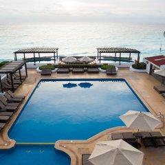 Отель GR Caribe Deluxe By Solaris - Все включено Мексика, Канкун - 8 отзывов об отеле, цены и фото номеров - забронировать отель GR Caribe Deluxe By Solaris - Все включено онлайн бассейн фото 4