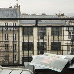 Le Chat Noir Design Hotel балкон