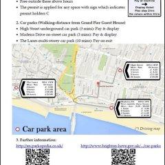 Отель Grand Pier Guest House Великобритания, Кемптаун - отзывы, цены и фото номеров - забронировать отель Grand Pier Guest House онлайн с домашними животными