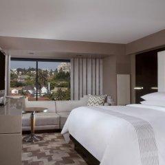 Отель Beverly Hills Marriott 4* Представительский номер с различными типами кроватей фото 2