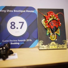 Отель Ming Shou Boutique House в номере