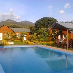 Отель Aqua Park Y Club Campestre El Yate Грасьяс бассейн
