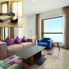 Ramada Hotel & Suites by Wyndham JBR 4* Семейные апартаменты с двуспальной кроватью фото 5
