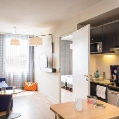 Отель Aparthotel Adagio access Paris Massy Gare TGV 3* Студия с различными типами кроватей фото 8