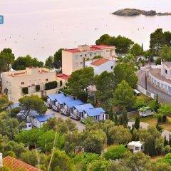 Отель Camping Ampurdanés Курорт Росес пляж