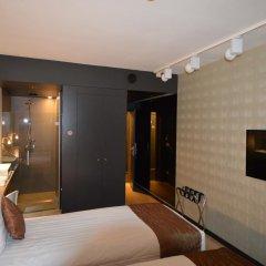 Отель Amosa Liège 3* Стандартный номер с различными типами кроватей фото 3