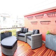 Отель Smartflats Victoire Terrace Бельгия, Брюссель - отзывы, цены и фото номеров - забронировать отель Smartflats Victoire Terrace онлайн балкон