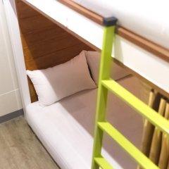 Отель Glur Bangkok Кровать в общем номере двухъярусные кровати фото 31
