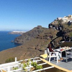 Отель Antithesis Caldera Cliff Santorini 3* Люкс с различными типами кроватей фото 8