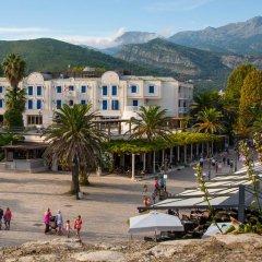 Hotel Mogren пляж