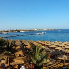 Отель Jaz Makadi Saraya Palms (ex Iberotel) пляж
