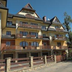 Отель Apartamenty Cicha Woda парковка