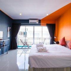 Отель Two Color Patong Номер Делюкс с двуспальной кроватью фото 3