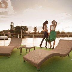 Отель VIPliving Houseboat Прага фитнесс-зал