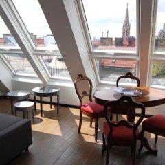 Апартаменты Kunsthaus Apartments Вена интерьер отеля