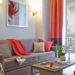 Отель Aparthotel Adagio Paris Opéra Франция, Париж - 1 отзыв об отеле, цены и фото номеров - забронировать отель Aparthotel Adagio Paris Opéra онлайн комната для гостей фото 5