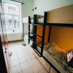 V4Vilnius Hostel Кровать в общем номере с двухъярусной кроватью фото 2