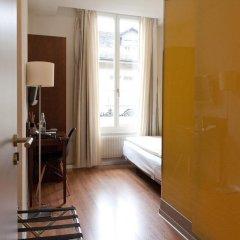 Отель Goldener Schlüssel 3* Стандартный номер с различными типами кроватей фото 15