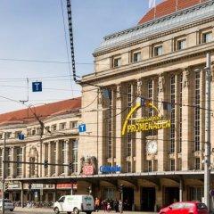 Отель Ibis budget Leipzig City городской автобус
