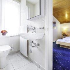 Отель Bünda Davos Швейцария, Давос - отзывы, цены и фото номеров - забронировать отель Bünda Davos онлайн ванная