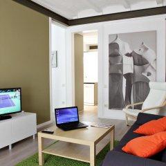 Апартаменты Habitat Apartments Pl. Espana Balconies Барселона интерьер отеля