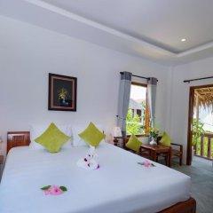 Отель An Bang Garden Homestay 3* Номер Делюкс с различными типами кроватей фото 3
