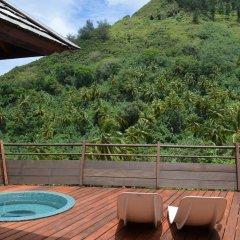 Отель Villa Honu by Tahiti Homes Французская Полинезия, Муреа - отзывы, цены и фото номеров - забронировать отель Villa Honu by Tahiti Homes онлайн бассейн фото 2