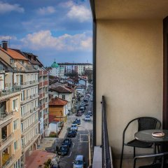 Апартаменты Sofia Art Gallery Vacation Apartments балкон