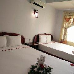 Hue Valentine Hotel 2* Стандартный семейный номер с двуспальной кроватью
