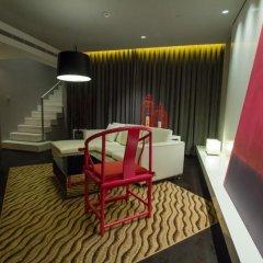 Metropolo Classiq Shanghai Jing'an Temple Hotel 3* Люкс с различными типами кроватей фото 7