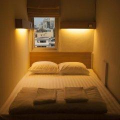 Micro Hostel Стандартный номер с двуспальной кроватью (общая ванная комната)