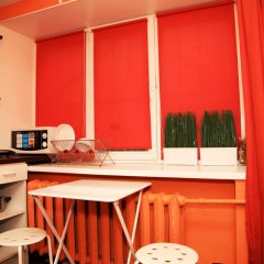 Апартаменты Берлога на Советской Студия с двуспальной кроватью фото 36