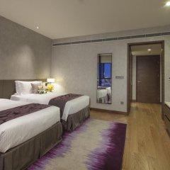 Отель Ascott Raffles City Chengdu Студия Делюкс с различными типами кроватей фото 2