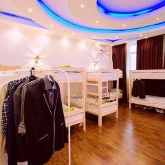 Bm Hostel Arbat Кровать в общем номере двухъярусные кровати фото 12